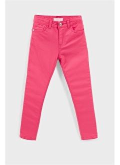 Lela Lela Cepli Pamuklu Jeans Kız Çocuk